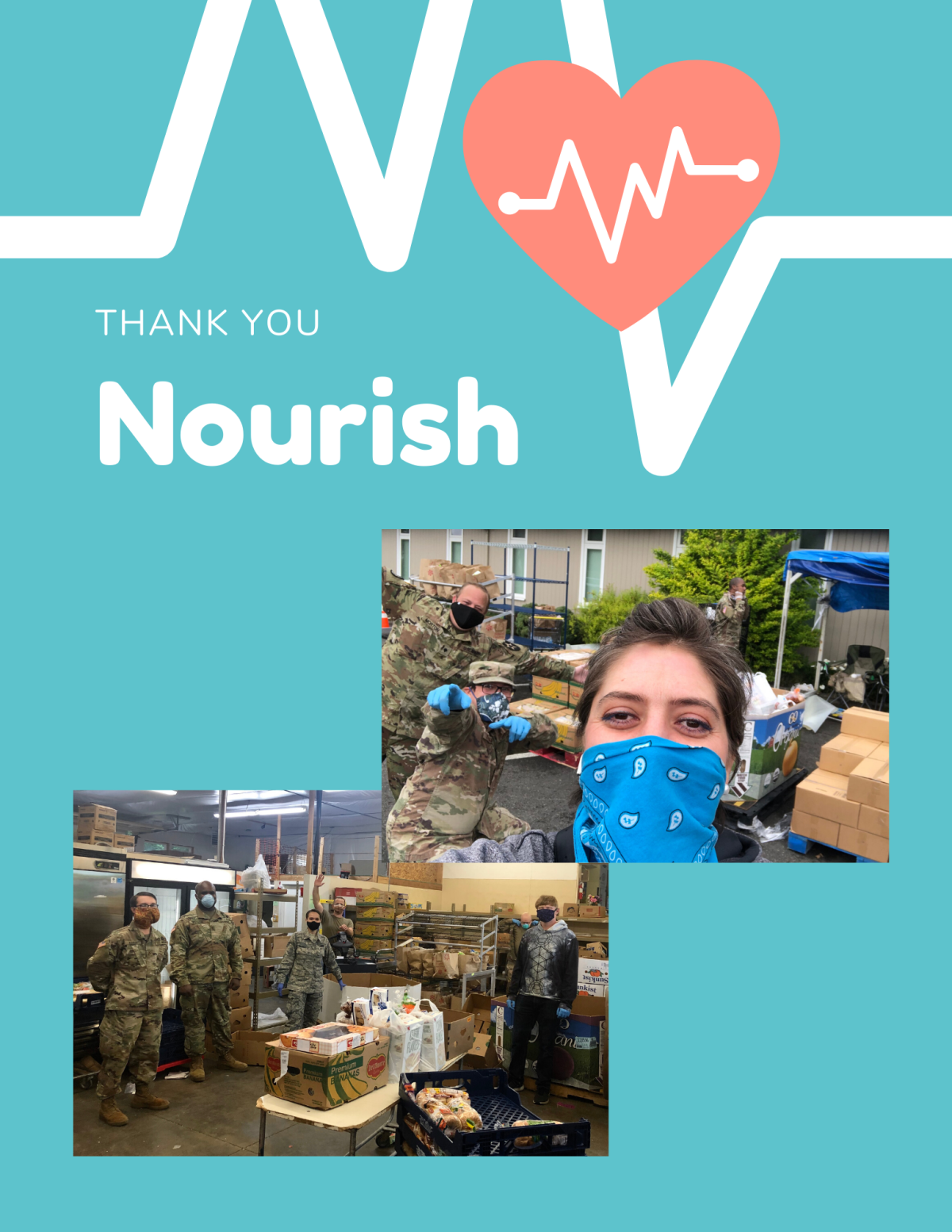THANK YOU NOURISH!