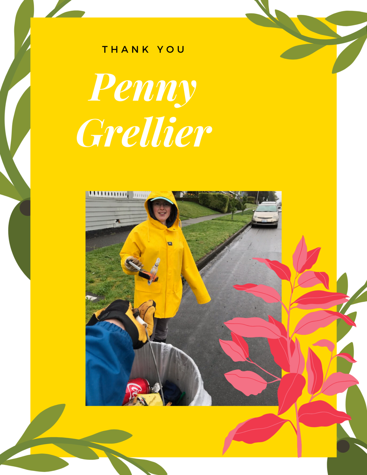 Thank You Penny Grellier!