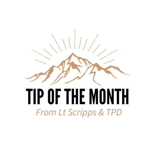 TPD May Tip of the Month